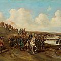 Armand-Dumaresq, Marche de l'armée prussienne sur Paris (1871),