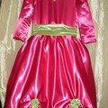 Robe de princesse pour carnaval - Encore pour Juliette...