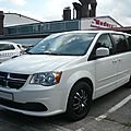 DODGE Grand Caravan 4door minivan Sinsheim (1)