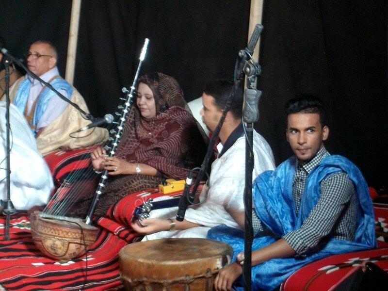 La chanteuse Mauritanienne Najat Laaroussi