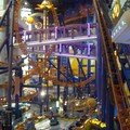 A roller coaster inside the mall!!!!!