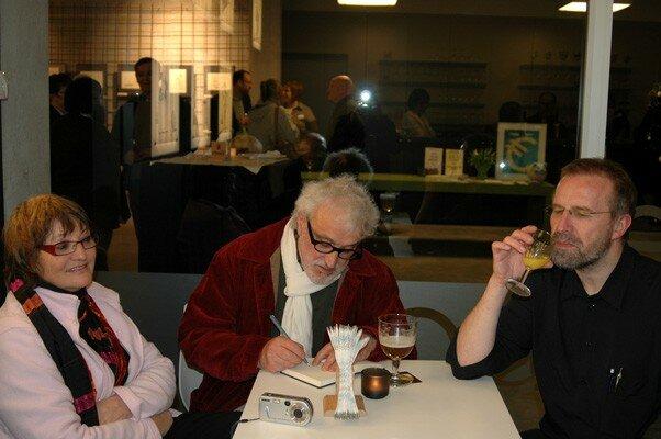 Denise, Ballouhey et Jan Bo de Beer