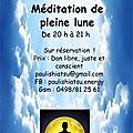 Ouffet - méditation pleine lune - 23/11/2018