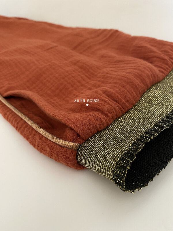 Pantalon terracotta 6