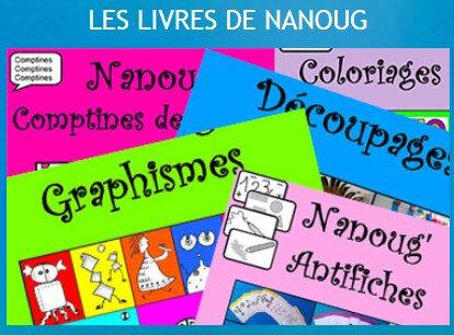 Les livres de Nanoug