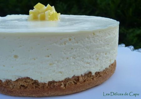 Cheesecake au citron1