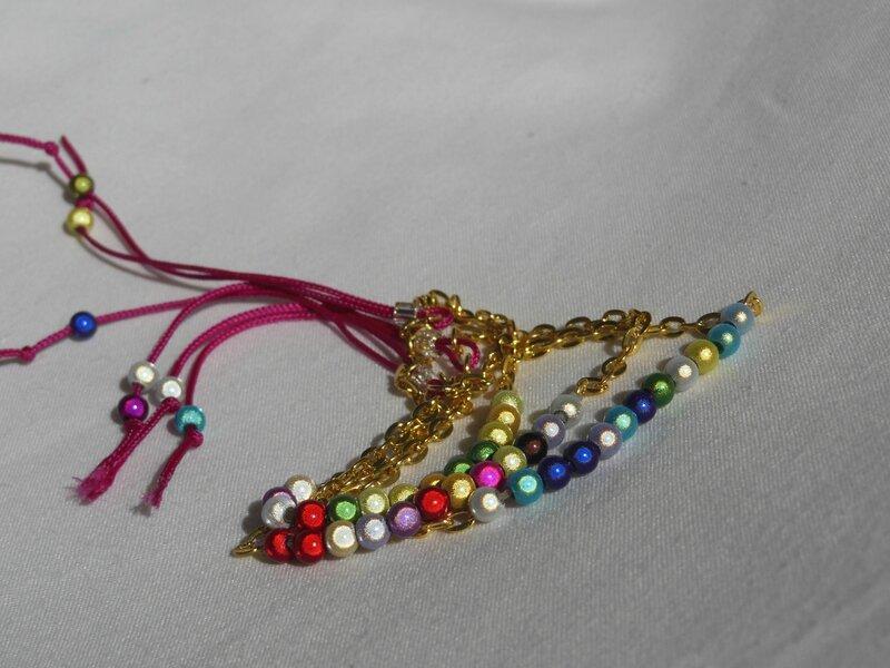 bracelet perles noire cecile 019