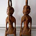 Statuettes d'iroko retenir l'etre aime pour toute sa vie du maitre dah avidozan