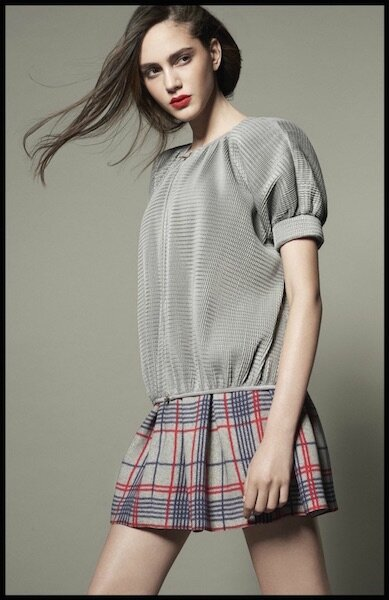 giorgio armani collection spring tartan capsule 2