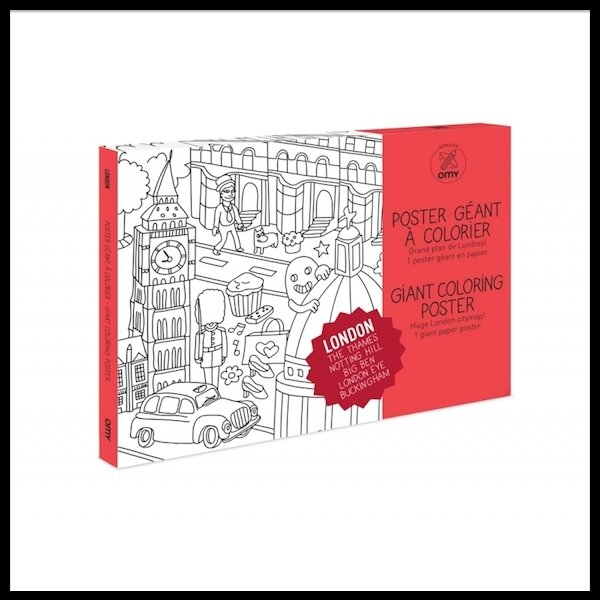 omy design & play coloriage londres