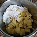 Compote de pommes au lait de coco