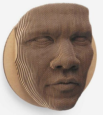 cardboard-wall-mask-puzzle