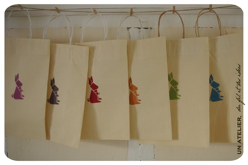 sacs recyclage lin