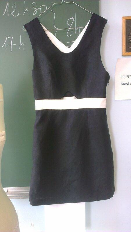 robe finale devant