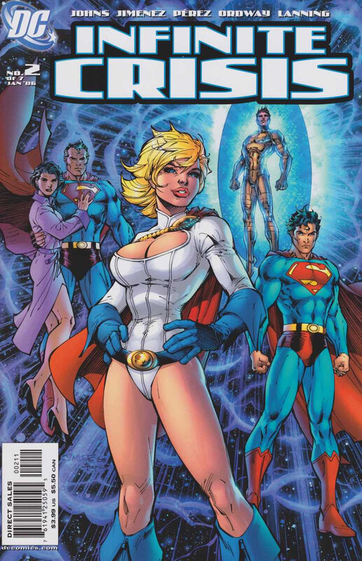 infinite crisis 02 jim lee cover