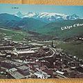 Alpe d'Huez - la Meije datée 1988