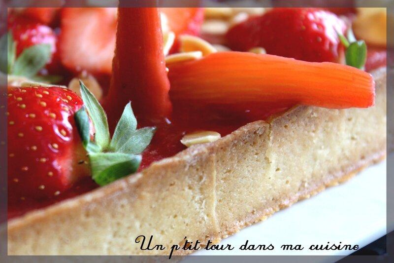 Tarte fraise rhubarbe3