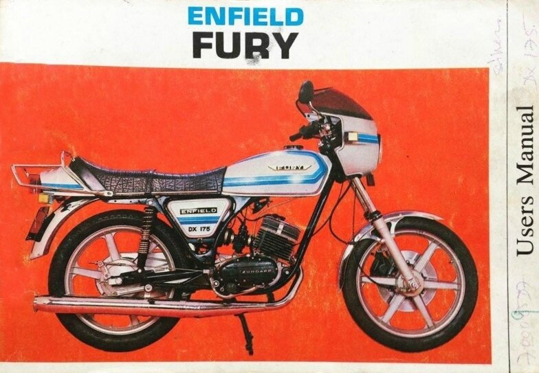 Enfield-Fury-175-DX-UsersManual