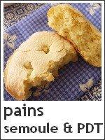 Pains individuels semoule & Flocons de pomme de terre - index