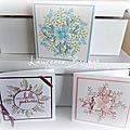 Trio de cartes au stamparatus
