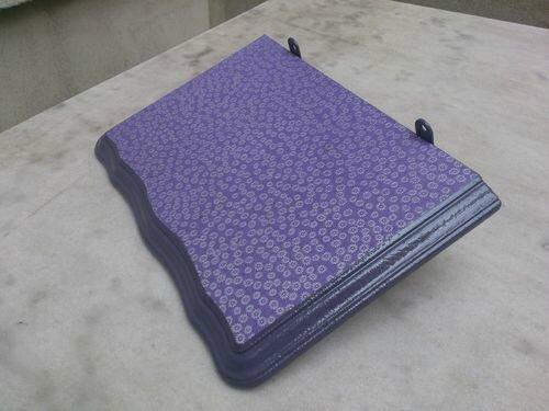 étagère violette