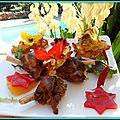 Manchons de canard confits, avec ses pommes de terre croustillantes