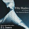 La musique de fifty shades of grey