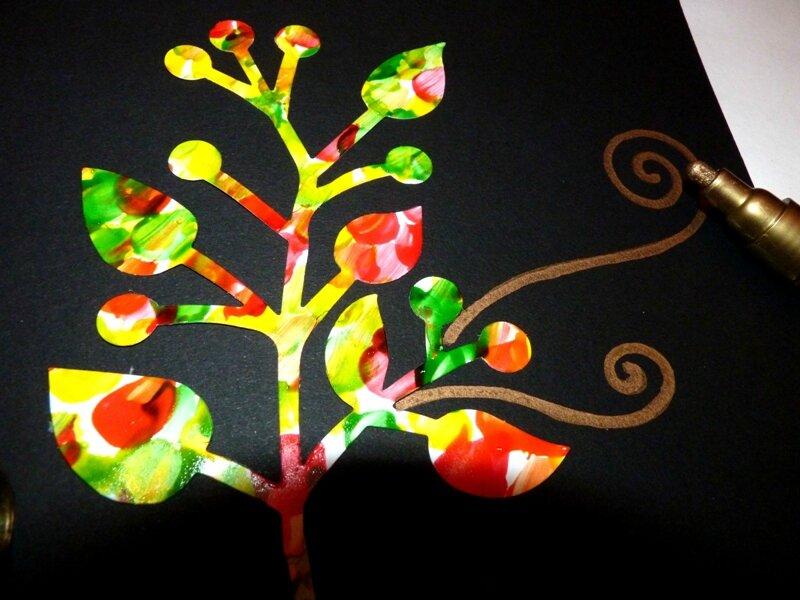 176_Arbres Automne_Trois petits arbres (50)