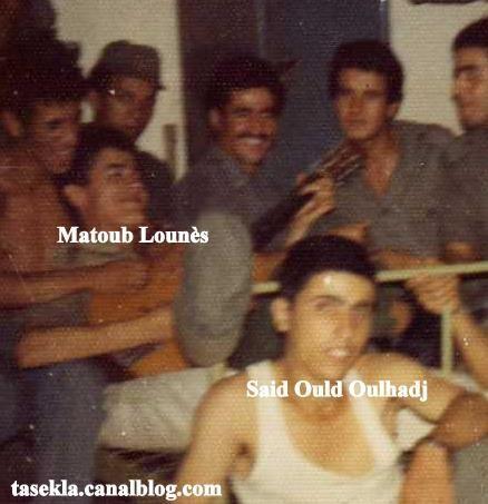 Matoub Lounes akked Said Ould Oulhadj / Caserne des transmissions d'Oran Qartier EL KHMULL - 1977