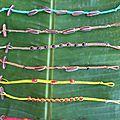 Bracelets plats - 4€