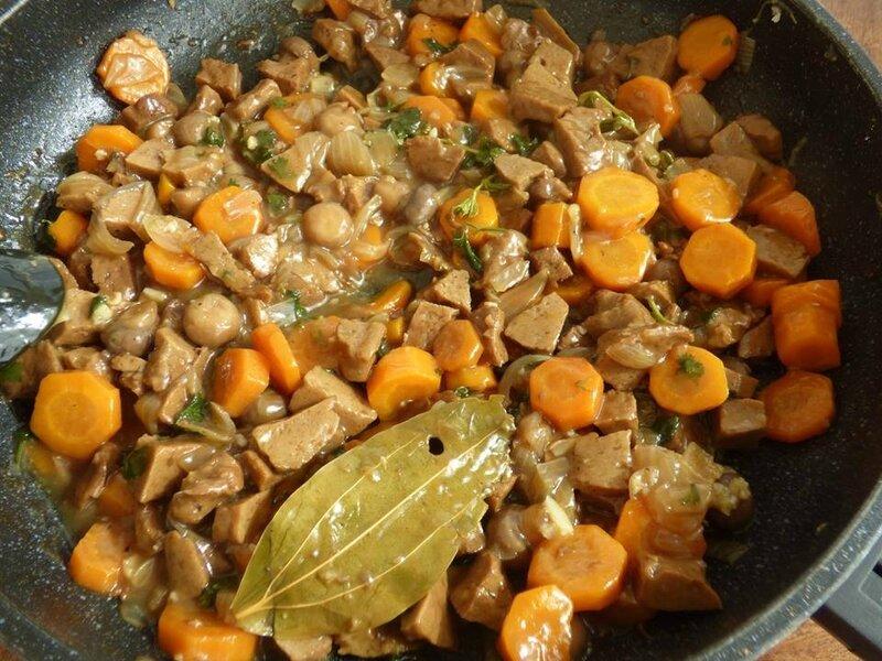 seitan madere wok