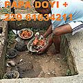 Amulette de protection spirituelle papa doyi