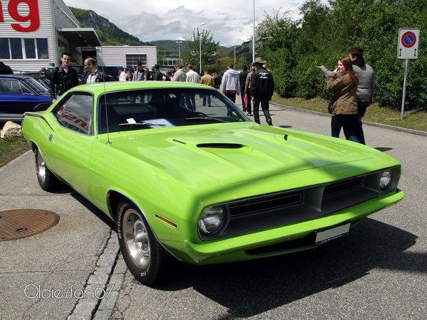 plymouth barracuda 383 hardtop coupe 1970 a