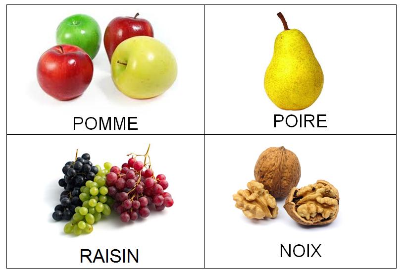 Imagier porte cl d 39 automne la maternelle de vivi - Fruits automne maternelle ...