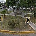 Rond-point à tijuana (mexique)