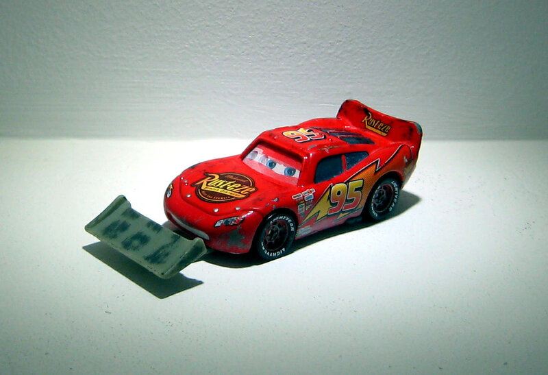 Flash McQueen (Mattel - Cars)