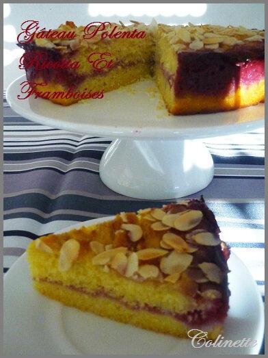 gâteau oolenta ricotta et framboises 02