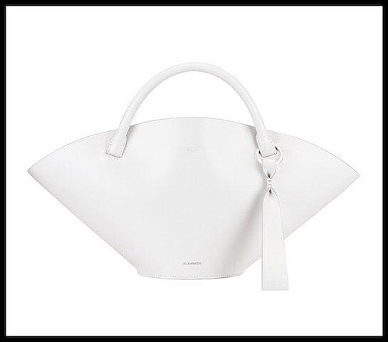 jil sander sac sombrero blanc