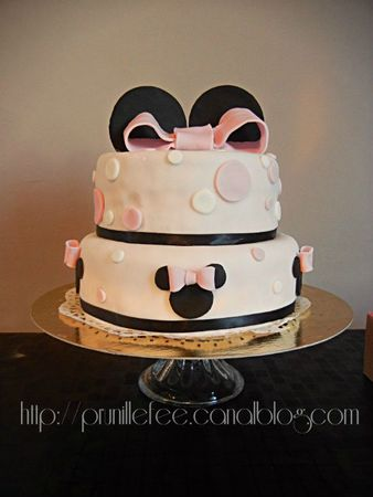 wedding cake minnie mouse prunillefee