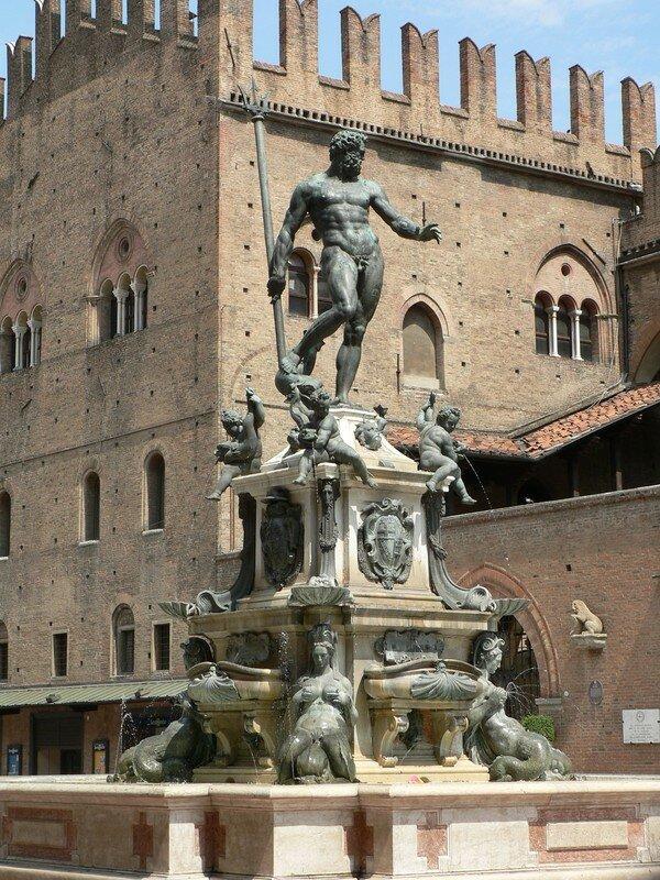 Jean de BOLOGNE, La fontaine de Neptune