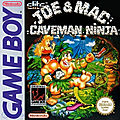 Joe & mac caveman ninja sur gameboy