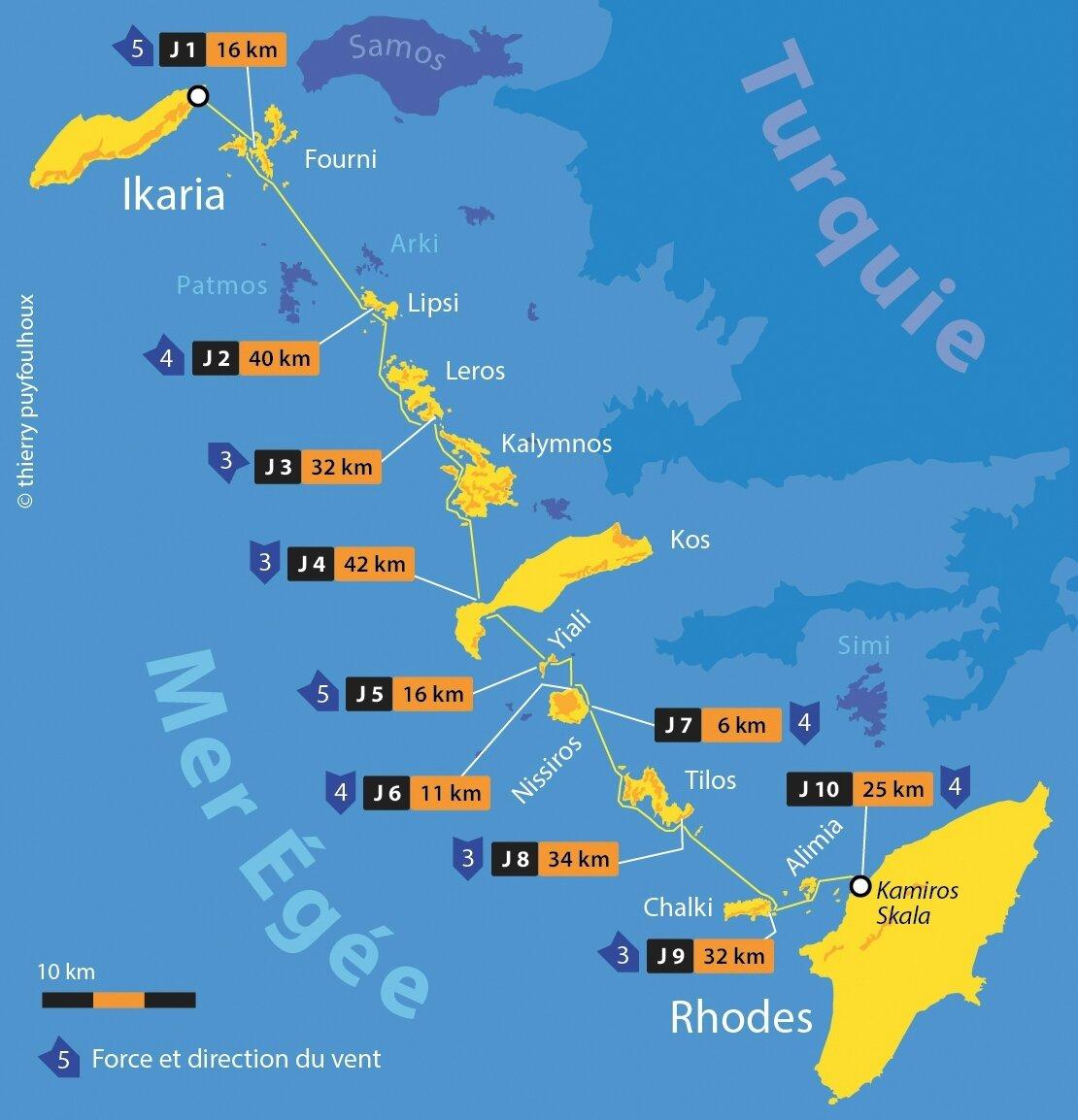 10 jours de navigation pour 254 km