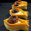 Petits poissons feuilletés aux anchois : ma recette inavouable...