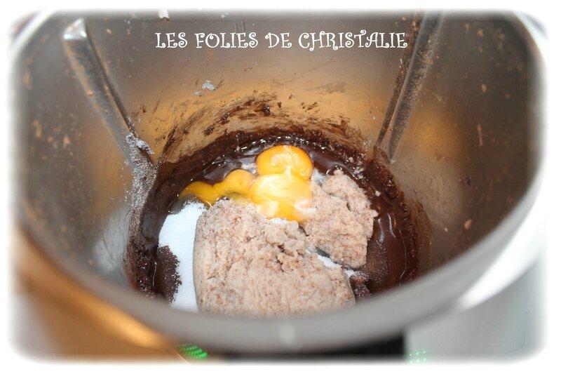Gâteau chocolat cerises 4