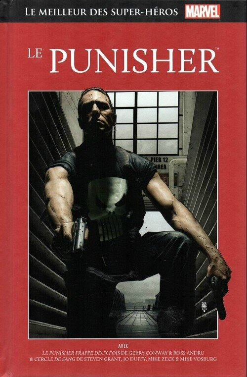 hachette 20 punisher cercle de sang