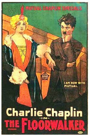 Affiche Charlot chef de rayon 1916 Charlie Chaplin