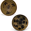 Two jizhou 'papercut' bowls, song dynasty (960-1279)