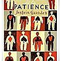 Le mystère de la patience - jostein gaarder