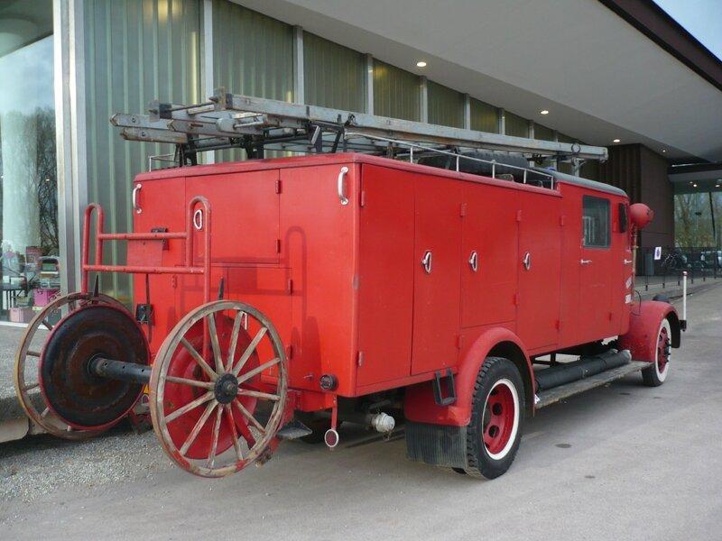 MERCEDES L3000 Auto-pompe des Sapeurs Pompiers 1944 Sélestat (2)