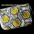 pochette hexagones BIS